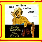 The Seven Year Itch - German Movie Cover (xs thumbnail)