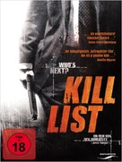 Kill List - German DVD cover (xs thumbnail)