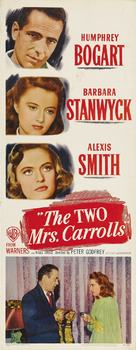 The Two Mrs. Carrolls - Movie Poster (xs thumbnail)