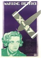 Dishonored - Swedish Movie Poster (xs thumbnail)