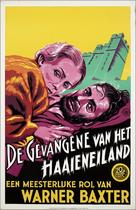 The Prisoner of Shark Island - Dutch Movie Poster (xs thumbnail)