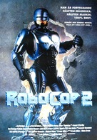 RoboCop 2 - Swedish Movie Poster (xs thumbnail)