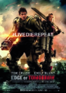 Live Die Repeat: Edge of Tomorrow - Swedish Movie Poster (xs thumbnail)