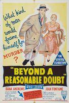 Beyond a Reasonable Doubt - Australian Movie Poster (xs thumbnail)
