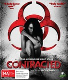 Contracted - Australian Blu-Ray movie cover (xs thumbnail)