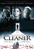 Cleaner - Dutch DVD movie cover (xs thumbnail)