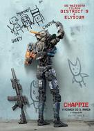 Chappie - Slovak Movie Poster (xs thumbnail)