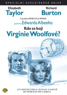 Who's Afraid of Virginia Woolf? - Czech DVD movie cover (xs thumbnail)