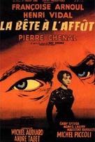 La bête à l'affût - French Movie Poster (xs thumbnail)