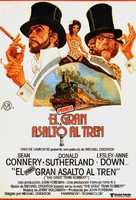 The First Great Train Robbery - Spanish Movie Poster (xs thumbnail)