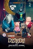Sing - Latvian Movie Poster (xs thumbnail)