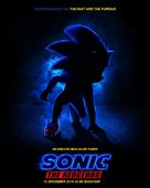 Sonic the Hedgehog - Dutch Movie Poster (xs thumbnail)