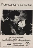 Cronaca di un amore - French Movie Poster (xs thumbnail)