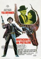 Invitation to a Gunfighter - Spanish Movie Poster (xs thumbnail)