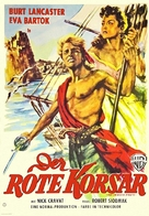 The Crimson Pirate - German Movie Poster (xs thumbnail)