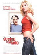 The Girl Next Door - Spanish poster (xs thumbnail)