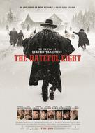 The Hateful Eight - Norwegian Movie Poster (xs thumbnail)