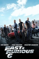 Furious 6 - DVD cover (xs thumbnail)