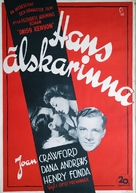 Daisy Kenyon - Swedish Movie Poster (xs thumbnail)