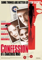 Confessions of a Dangerous Mind - Movie Poster (xs thumbnail)