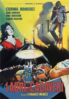Ladrón de cadáveres - Italian DVD cover (xs thumbnail)