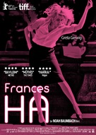 Frances Ha - Turkish Movie Poster (xs thumbnail)