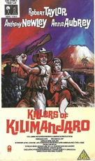 Killers of Kilimanjaro - British Movie Cover (xs thumbnail)