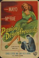 Backfire - Argentinian Movie Poster (xs thumbnail)
