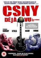 CSNY Déjà Vu - British Movie Cover (xs thumbnail)