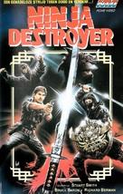 Ninja Destroyer - Dutch Movie Cover (xs thumbnail)