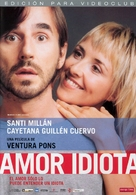 Amor idiota - Spanish Movie Cover (xs thumbnail)