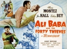 Ali Baba and the Forty Thieves - British Movie Poster (xs thumbnail)