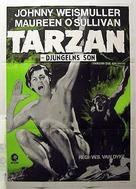 Tarzan the Ape Man - Swedish Movie Poster (xs thumbnail)