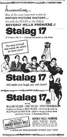 Stalag 17 - poster (xs thumbnail)