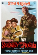 Soldier in the Rain - Italian Movie Poster (xs thumbnail)