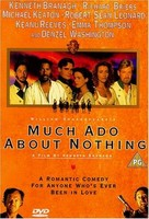 Much Ado About Nothing - British DVD cover (xs thumbnail)