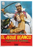 Lo sceicco bianco - Spanish Movie Poster (xs thumbnail)