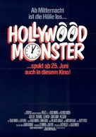 Hollywood-Monster - German Movie Poster (xs thumbnail)