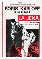 The Body Snatcher - Italian Movie Poster (xs thumbnail)