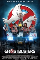 Ghostbusters - Danish Movie Poster (xs thumbnail)