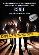 """CSI: Crime Scene Investigation"" - German Movie Poster (xs thumbnail)"