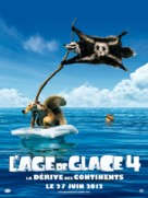 Ice Age: Continental Drift - French Movie Poster (xs thumbnail)