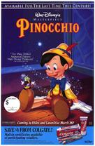 Pinocchio - Video release movie poster (xs thumbnail)