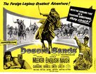 Desert Sands - British Movie Poster (xs thumbnail)