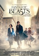 Fantastic Beasts and Where to Find Them - Estonian Movie Cover (xs thumbnail)