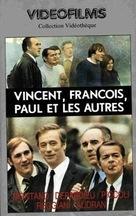 Vincent, François, Paul... et les autres - French VHS cover (xs thumbnail)