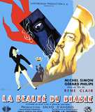 La beautè du diable - French Movie Poster (xs thumbnail)