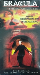 The Satanic Rites of Dracula - Canadian VHS movie cover (xs thumbnail)