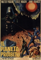Forbidden Planet - Italian Movie Poster (xs thumbnail)