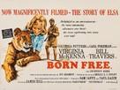 Born Free - British Movie Poster (xs thumbnail)